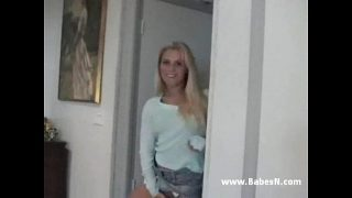 Sexy young blond fucked